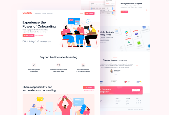 yuccaHR - Experience the Power of Onboarding